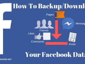 how to backup facebook