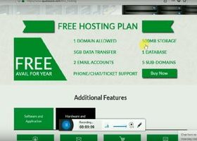 Unlimited Free Web Hosting